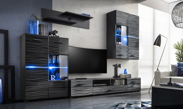 living-madison-mdf-negru-cosmic 0